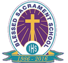 Blessed Sacrament Catholic School Mobile Logo
